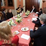 Eliot Fisk performing at John Kerry's private residence